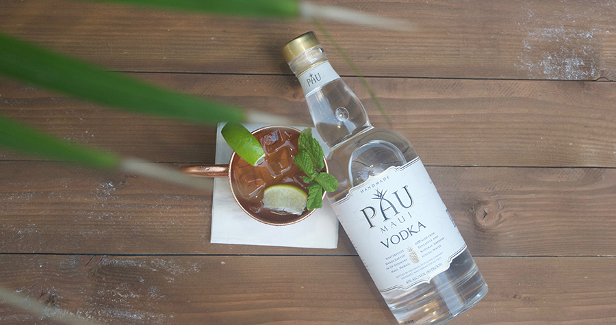 Pau Vodka Maui Mule